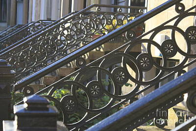 Photograph - Glasgow Railings by Mary-Lee Sanders
