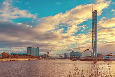 Photograph - Glasgow Scotland Cityscape by Antony McAulay