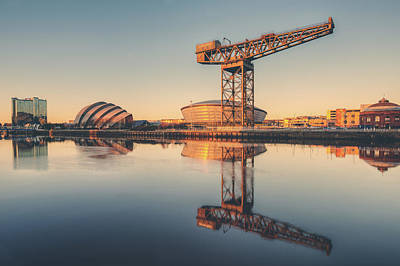 Photograph - Glasgow Sunset by Ray Devlin