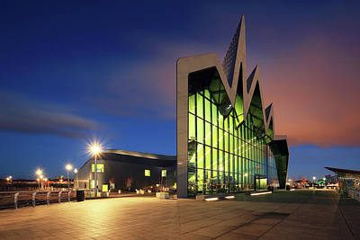 Photograph - Glasgow Transport Museum by Grant Glendinning