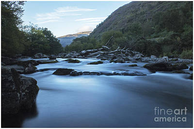 North Wales Digital Art - Glaslyn Pass by Chris Evans