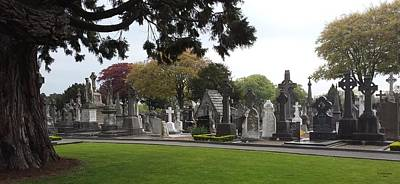 Photograph - Glasnevin Cemetary by Judith Rhue