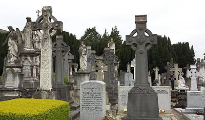 Photograph - Glasnevin Gravesites by Judith Rhue