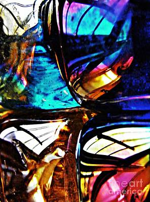 Photograph - Glass Abstract 58 by Sarah Loft