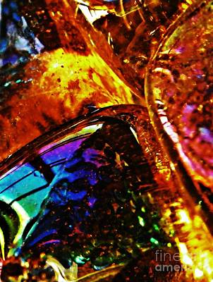 Photograph - Glass Abstract 63 by Sarah Loft