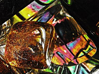 Photograph - Glass Abstract 783 by Sarah Loft