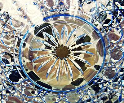 Photograph - Glass Abstract 787 by Sarah Loft
