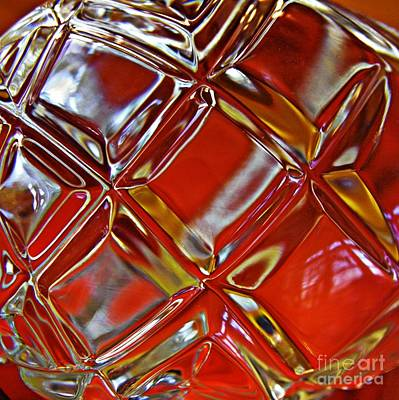 Photograph - Glass Abstract 788 by Sarah Loft