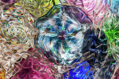 Photograph - Glass Abstract #4 by Patti Deters