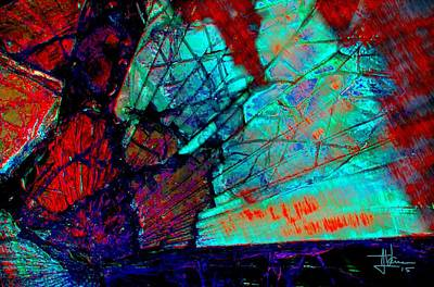 Photograph - Glass Abstraction 2 by Jim Vance