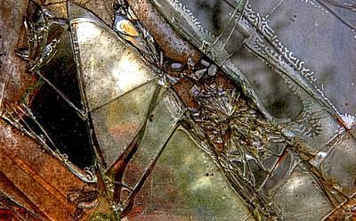 Photograph - Glass Abstraction A by Jim Vance