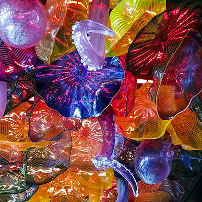 Photograph - Glass Abstraction by Lynn Palmer