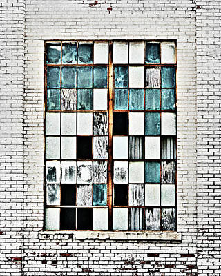 Photograph - Glass And Brick by Corey Haynes