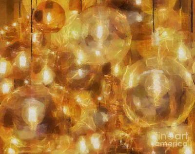 Pyrography - Glass Ball by Yury Bashkin
