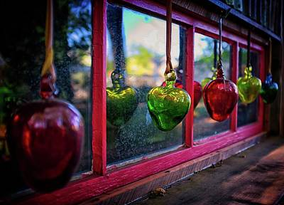 Photograph - Glass Baubles by Thomas Hall