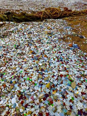 Photograph - Glass Beach by Amelia Racca