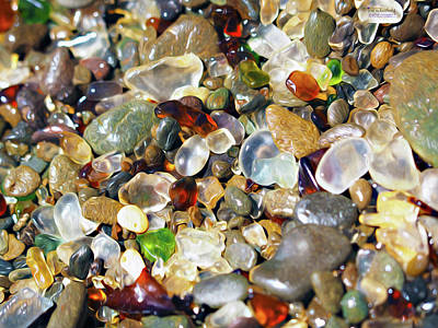 Photograph - Glass Beach Dreams by Joe Schofield