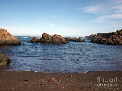 Photograph - Glass Beach Fort Bragg,ca by Sara Raber