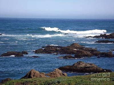 Photograph - Glass Beach Fort Bragg,calif by Sara Raber