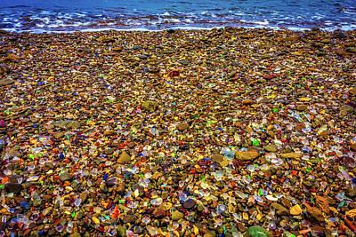 Photograph - Glass Beach Ft Bragg by Garry Gay