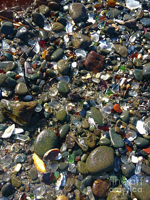 Photograph - Glass Beach In Eureka California by Gregory Dyer