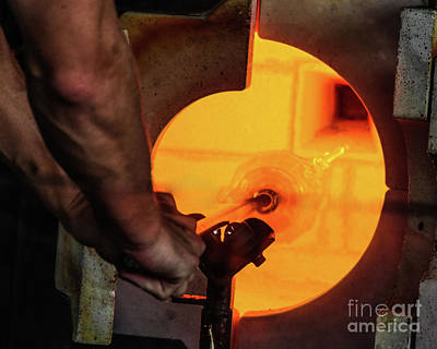 Photograph - Glass Blower by Thomas Marchessault