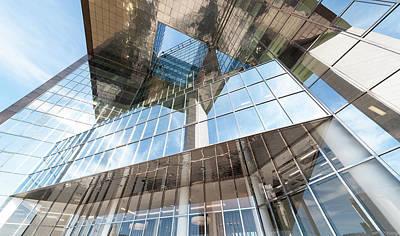 Glass Building Art Print by Svetlana Sewell