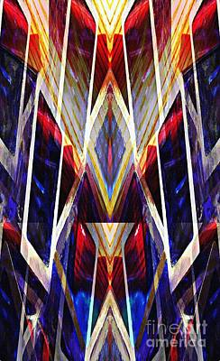 Glass Cathedral Art Print