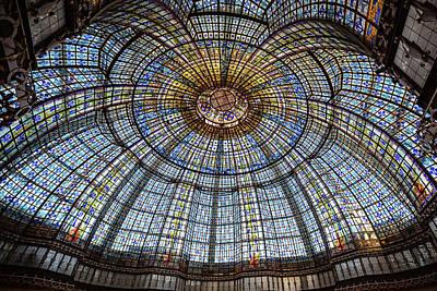 Photograph - Glass Ceiling - Paris, France by Melanie Alexandra Price