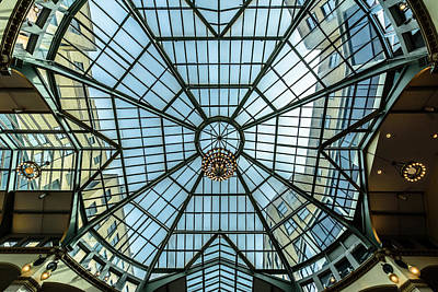 Photograph - Glass Ceiling by Randy Scherkenbach
