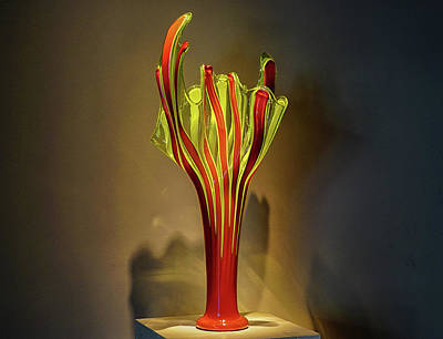Photograph - Glass by Dennis Dugan