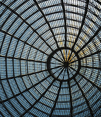 Photograph - Glass Dome Roof by Jocelyn Kahawai