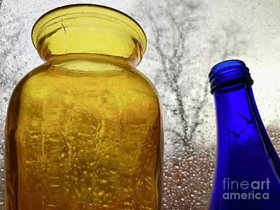 Photograph - Glass, Glass, Raintree by Trish Hale