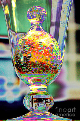 Photograph - Glass Inside Glass by Jolanta Anna Karolska