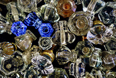 Photograph - Glass Knobs by Christopher Holmes