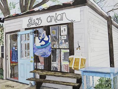 Painting - Glass Onion Block Island Ri by Carol Flagg