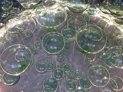 Photograph - Glass Orbs by Denise Mazzocco