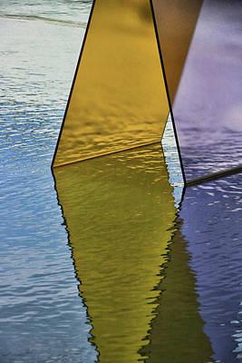 Photograph - Glass Panels # 2 by Allen Beatty
