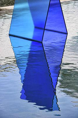 Photograph - Glass Panels # 1 by Allen Beatty