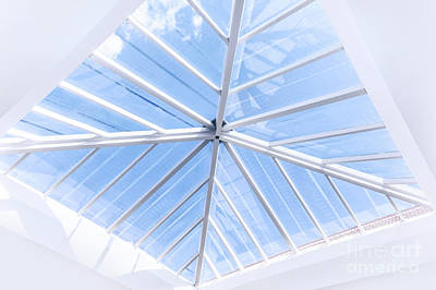 Photograph - Glass Roof Design by Anna Om