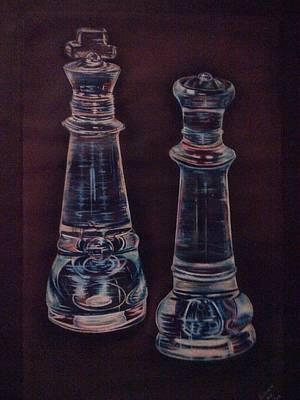 Glass Royalty Art Print by Summer Porter