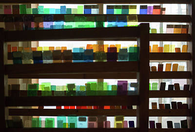 Cracow Photograph - Glass Samples by John Janicki