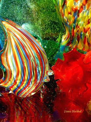 Photograph - Glass Sea by Donna Blackhall