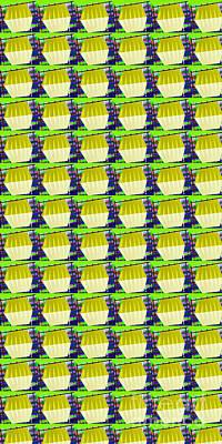 Mountain Landscape - Glass strip based colorful sparkle pattern by Navinjoshi at FineArtAmerica.com  shower curtains duve by Navin Joshi