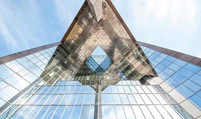 Glass Structure Art Print by Svetlana Sewell