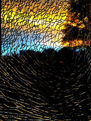 Photograph - Glass Sunrise 2 by Kathy M Krause