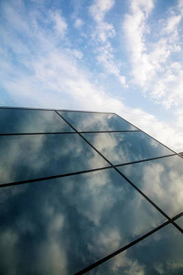 Photograph - Glass To Sky by Scott Kemper