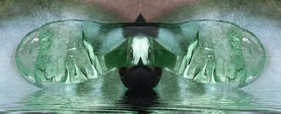Digital Art - Glass Wings by WB Johnston