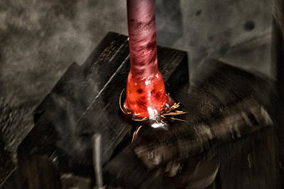 Hand Crafted Photograph - Glassblower Sessions 8 by Nathan Larson