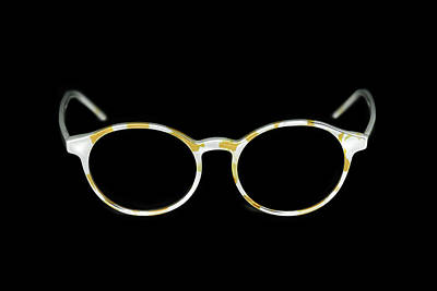 Pyrography - Glasses #9689 by Andrey Godyaykin